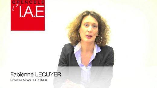 Fabienne Lecuyer, Directrice Achats Club Med