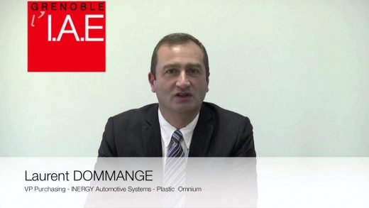Laurent Dommange, VP Purchasing Plastic Omnium Inergy Automotive