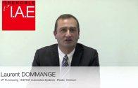 Laurent Dommange, VP Purchasing Plastic Omnium Inergy Automotive